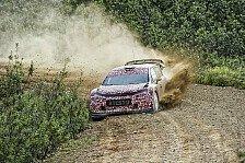 WRC - Der neue Citroen bringt die Fahrer zum Grinsen