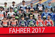 MotoGP 2017: Alle Fahrer, alle Teams - so sieht das neue Starterfeld aus