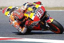 MotoGP - Marquez dominiert FP4 in Katalonien