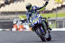 MotoGP - Rossi am Sonntagmorgen wieder in Form