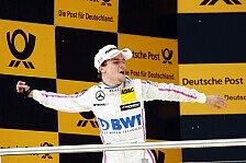DTM - Sieger Auer: Mehr Respekt nach dem ersten Sieg