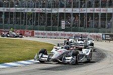 IndyCar - Video: IndyCar 2016: Die Highlights vom 2. Rennen in Detroit