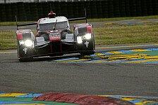 24 h von Le Mans - Audi fährt Bestzeit beim Le-Mans-Vortest