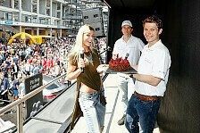 ADAC GT Masters - Asch: Geburtstagstorte von Mercedes-AMG