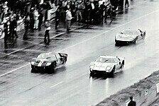 24 h von Le Mans - Rückblick: Fords erster Le-Mans-Sieg vor 50 Jahren
