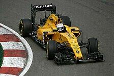Formel 1 - 3. Training: Unfall von Kevin Magnussen