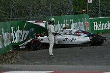 Formel 1 - Massa: Williams nennt Unfallursache