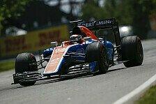 Formel 1 - Wehrlein deutlich vor Haryanto