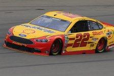 NASCAR - Zweite Michigan-Pole für Logano