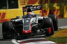 Formel 1 - Haas in Baku: Erstmals kein Erfahrungsnachteil