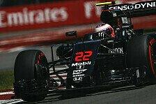 Formel 1 - McLaren: Motor-Upgrade am Freitag nicht spürbar