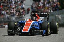 Formel 1 - Wehrlein splittet Sauber in Kanada