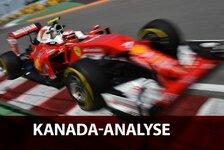 Formel 1 - Freitags-Analyse: Ferrari ist zurück!