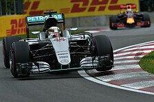 Formel 1 - Kanada-Qualifying: Hamilton bezwingt Rosberg