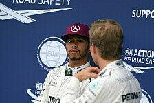 Formel 1 - Das denkt Hamilton über Rosbergs Probleme
