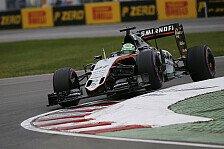 Formel 1 - Hülkenberg: Leichte Enttäuschung nach P8