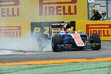 Formel 1 - Manor in Großbritannien: Schwung nutzen