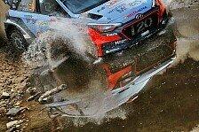 WRC - Video: Hyundai: Schlammschlacht im Spanien-Shakedown