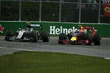 Formel 1 - Kollision, Dreher: Chaos-Rennen für Rosberg