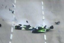 IndyCar - Newgarden nach Horror-Crash im Krankenhaus