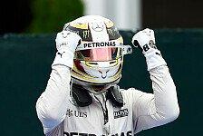 Formel 1 - Hamilton schlägt zurück: Wäre gern wie Ali
