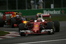 Formel 1 - Acht Punkte in zwei Rennen - Kimi im Formtief?