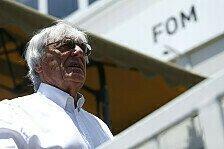 Formel 1 - Ecclestone wünscht sich F1-Sprintrennen