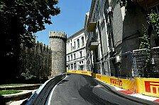 Formel 1, Aserbaidschan GP: Die Vorschau auf den Baku City Circuit
