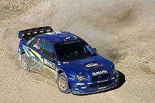 WRC - Subaru: Solberg fährt auf Nummer sicher