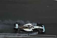 Formel 1 - Bremsplatten: Hamilton bekommt neuen Reifen