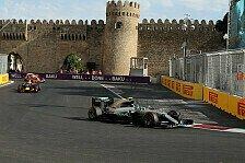 Live-Ticker Aserbaidschan GP: Donnerstag in Baku