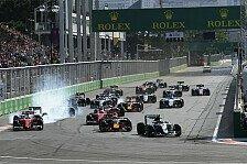 Formel 1 - Starke TV-Quoten bei Baku-Premiere