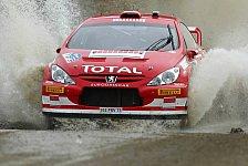 WRC - Peugeot weiterhin auf Podestkurs