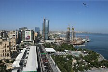 Formel 1, Aserbaidschan GP: Strahlendes Sommerwetter an allen Tagen erwartet