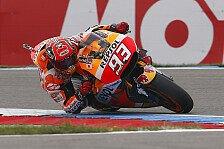 MotoGP - FP4: Marquez im Regen von Assen Schnellster