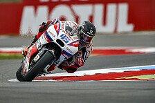 MotoGP - Sensation! Redding rast in Reihe eins