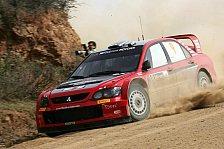 WRC - Beide Mitsubishi in den Punkten