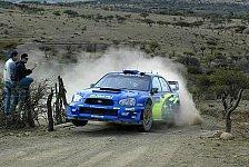 WRC - Mexiko Tag 2: Solberg weiterhin an der Spitze