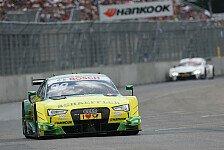 DTM - Team Phoenix mit teaminternem Crash am Norisring
