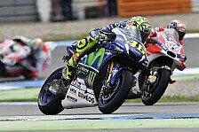 MotoGP Sepang 2016: Dovizioso holt Regen-Pole vor Rossi