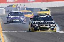 NASCAR - Stewart gewinnt dramatisches Rennen in Sonoma