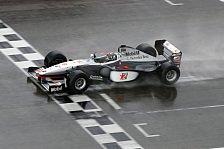 Formel 1 - Rosberg fährt Häkkinens Weltmeister-Boliden