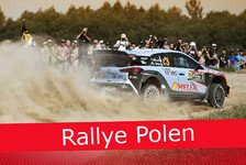 WRC - Ticker: News-Splitter Rallye Polen 2016