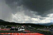 Formel 1 Spielberg Wetter: Österreich GP entkommt dem Gewitter