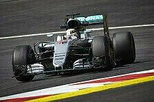 Formel 1 - Österreich-Qualifying: Hamilton Pole, Hulk auf P3