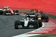 2017: Die Team-Duelle der Favoriten von Mercedes, Red Bull und Ferrari im Check