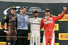 Formel 1 - Bilder: Österreich GP - Podium