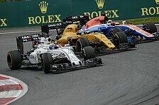 Formel 1 - Fahrerkarussell: Geheimtipp Williams oder Renault?