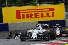 Formel 1 - Williams in Großbritannien: Positive Erinnerungen