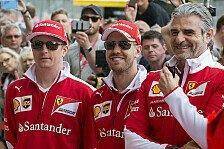 Formel 1 - Ferrari verlängert für 2017 mit Kimi Räikkönen